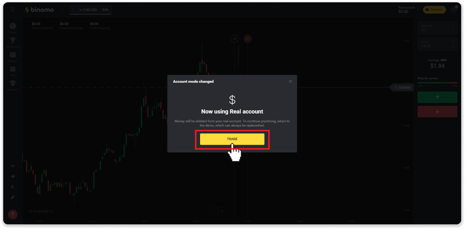 How to Trade at Binomo for Beginners